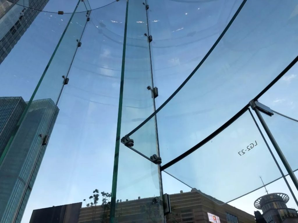 North Glass Double Curved Glass
