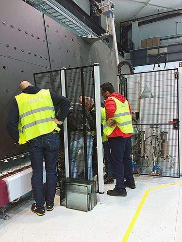 Lisec Thermo Glass Door
