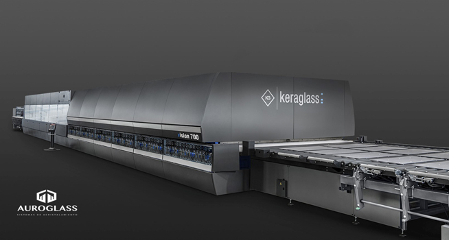 KeraGlass Tempering Furnace Auroglass Peru