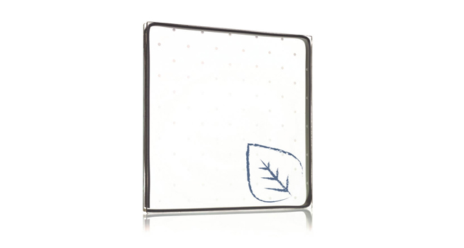 New Walker Glass EPD patterned acid-etched glass