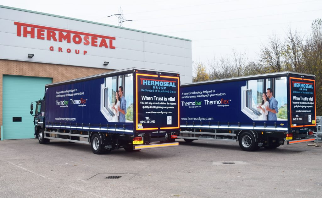 Thermoseal Group's 31T Trucks