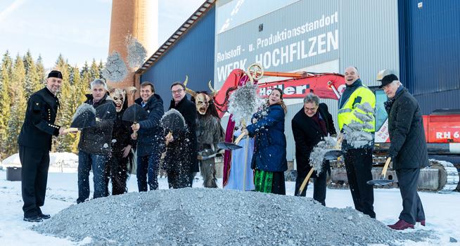 RHI Magnesita Dolomite Resource Center Europe