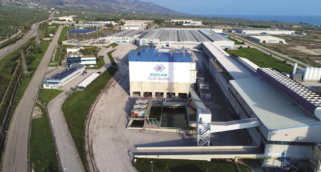 Şişecam Manfredonia Float Glass Factory