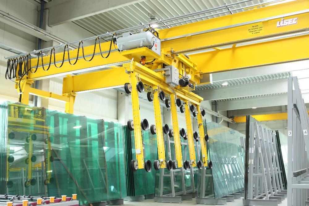 automatic glass loading