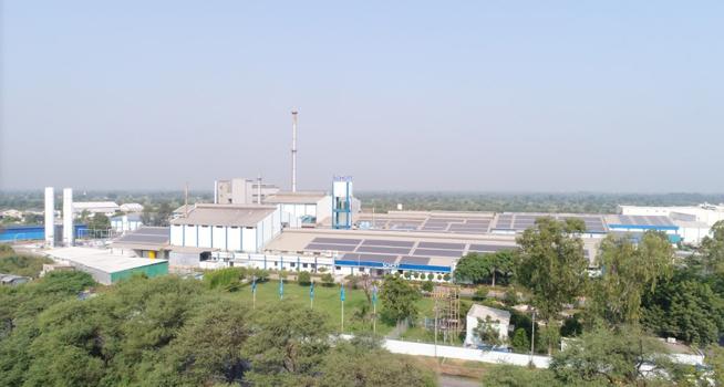 schott india glass factory upgrade Zippe furnace