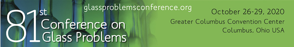 81st Conference on Glass Problems Logo
