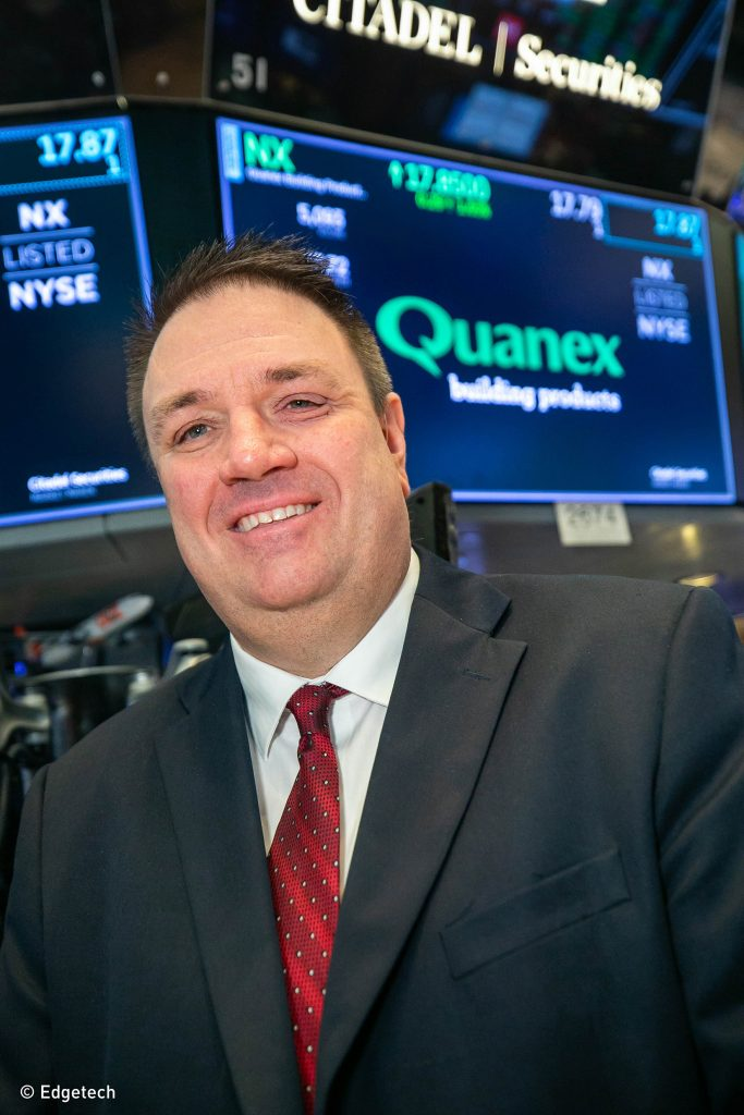 George Wilson, Quanex Building Products Corporation's CEO