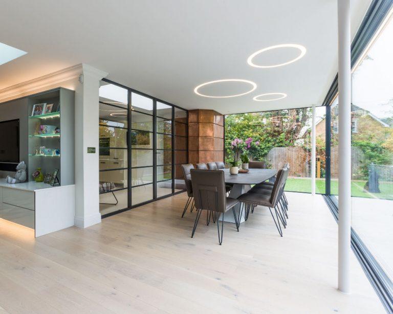 IQ Glass Minimal Windows Mill Hill Mondrian