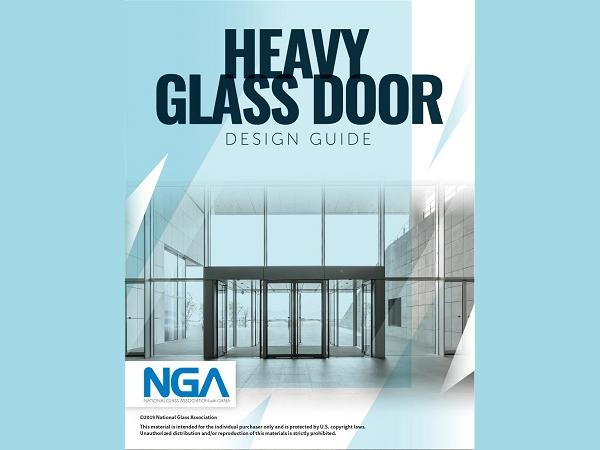 NGA Heavy Glass Door Design Guide