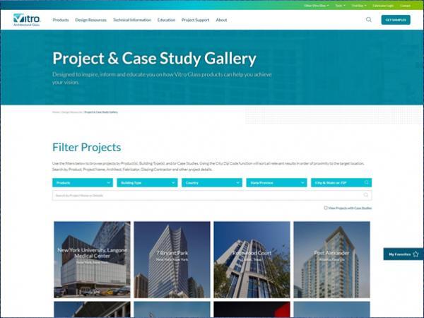 Vitro Glazing New Website