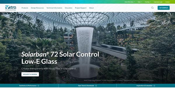 Vitroglazings Product Solarban 72