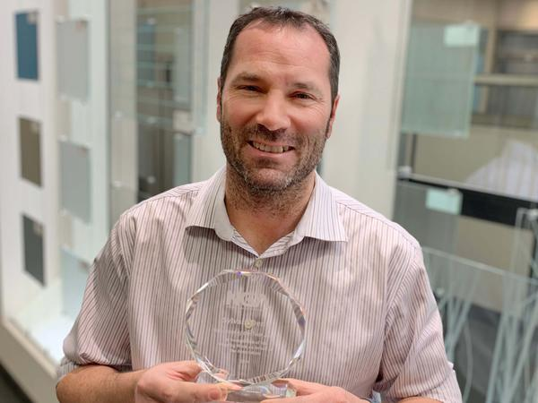 Walker Glass: Sylvain Denis Wins 2020 Volunteer of the Year Award