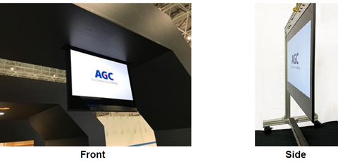 AGC develops infoverre™ Paper-like Screen Series