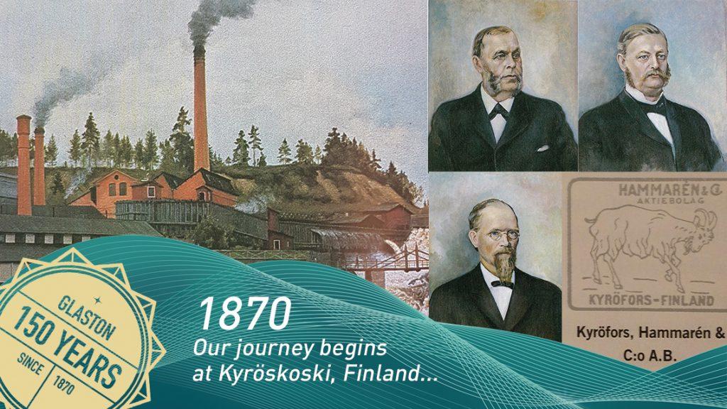 Glaston Finland 150 years company