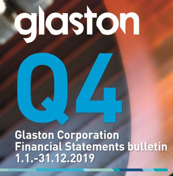 Glaston Q4 Financial Reports