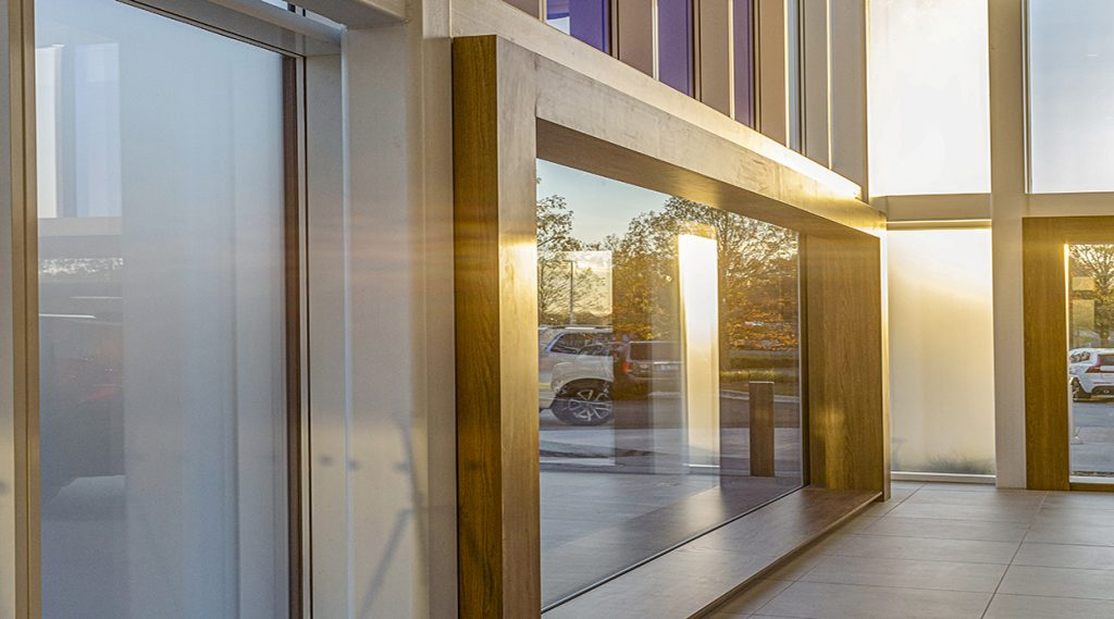 How acid-etched glass can brighten your day