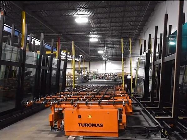 Turomas Glass Cutting Machine