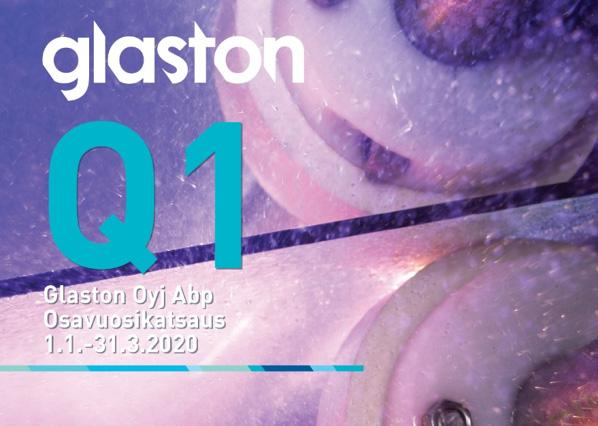 Glaston's first quarter of 2020 results have been published