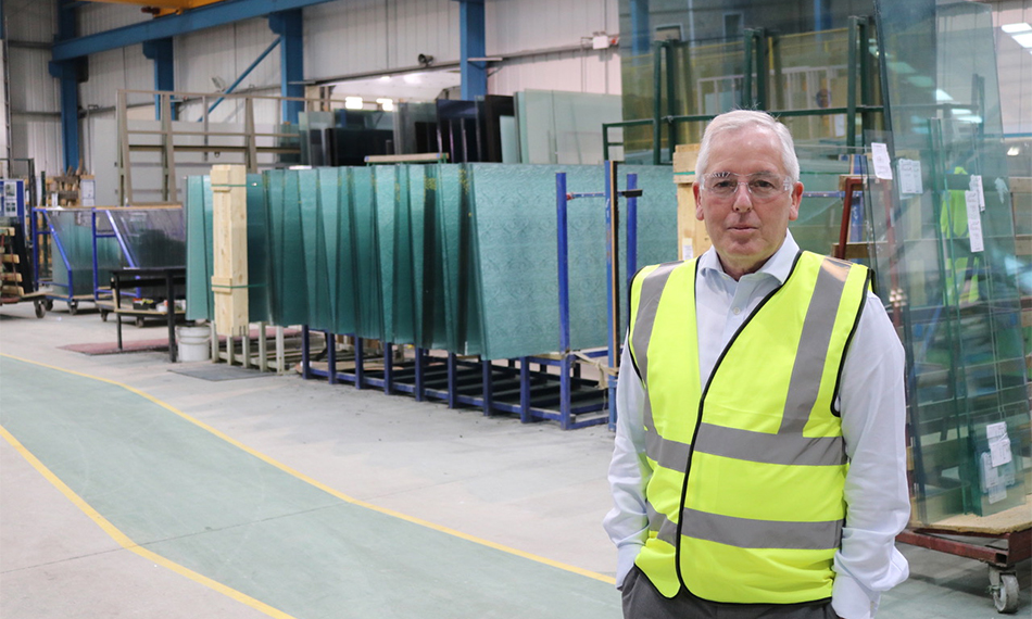 John Spiby, CEO, Padiham Glass