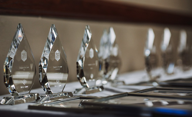 British Glass announces categories for Glass Focus Awards 2020