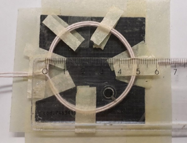 Figure 4. The antenna of the preliminary experimental system.