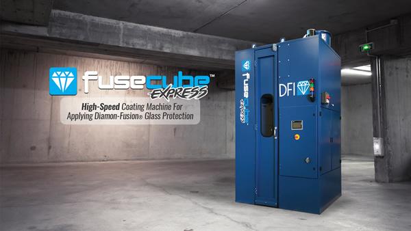 Manko's New FuseCube Express Application Coating Machine