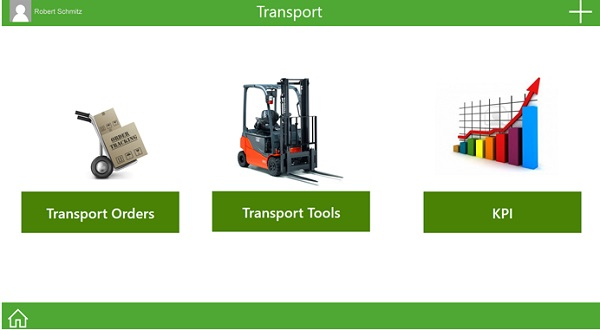 Image 2: Access to transport data, rack locations and live performance data in production is available via click.