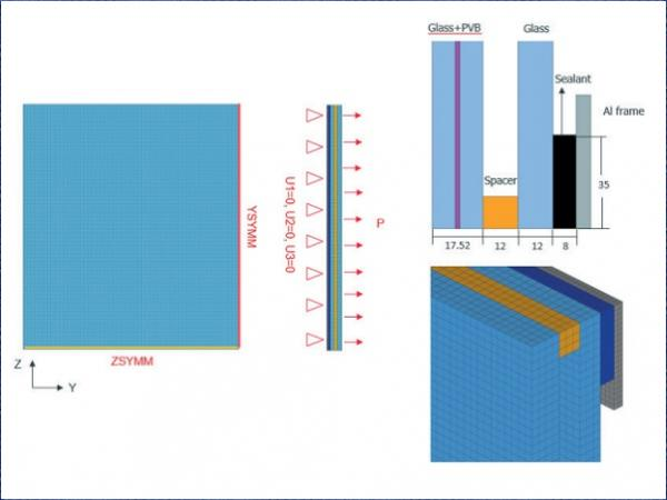 Technical Considerations and Performance of Structural Glazing Glass Façade of High-Rise Building in Extreme Climate